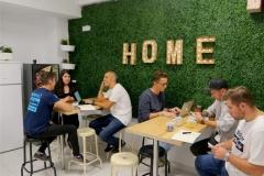 Cafe-area